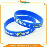 Wristband do silicone da forma com esportes
