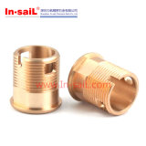 銅および真鍮の外部糸のブッシュを機械で造るCNC