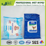 Trapos mojados del desodorisante disponible del animal doméstico de la fabricación de China