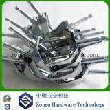 CNCの部品を処理している複雑な高精度OEM