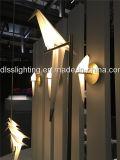 Iluminación casera decorativa 2017 de la pared de la lámpara de pared de la cortina del pájaro de la lámpara de pared del LED