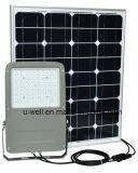 tempo di illuminazione 12-24hrs dell'indicatore luminoso di inondazione solare del LED con il comitato solare 18V