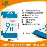 Caixa de embalagem feita sob encomenda do PVC do papel do cartão com indicador do PVC