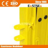 黄色いプラスチック拡張可能交通安全の障壁