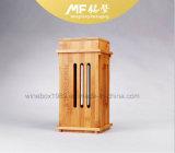 자연적인 Retro 디자인에 의하여 건류되는 대나무 포도주 포장 선물 상자