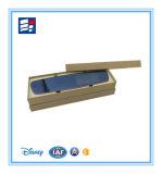 Emballage fabriqué à la main de carton de papier de modèle empaquetant la boîte-cadeau électronique