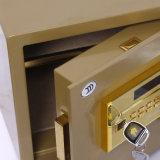 Cadre sûr à la maison de garantie avec de l'or Seriers Fdx a/D 30y de Digitals Blocage-Champagne