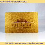 Gold Printing PVC magneetstrip Card voor VIP Membership