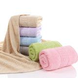 Essuie-main pur de Bath de coton de 100%, essuie-main coloré d'absorption d'eau