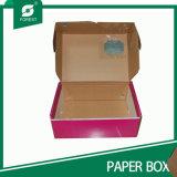 De bruine Verpakkende Vakjes van het Karton van het Document van Kraftpapier Golf