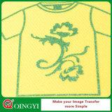 ファブリックのためのQingyiの大きい品質そして低価格のきらめきの熱伝達Vinly