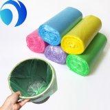 Sac d'ordures en plastique remplaçable de couleur d'usine promotionnelle