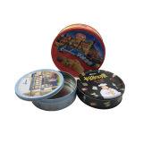 Mango Hacer Cookies Caja de Galletas caja de forma redonda al por mayor de la lata de contenedores