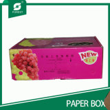 브라운 Kraft 종이 물결 모양 판지 포장 상자