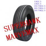 neumático resistente del carro TBR Tralier del neumático brillante de 11r22.5
