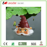 Смешной Figurine Gnome сада на грибе для украшения пруда плавая