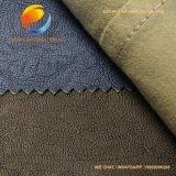 Gewaschenes PU-Leder für Kleid mit dickflüssigem Schutzträger