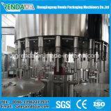 Máquina rotatoria de la bebida del jugo con lavarse y el relleno