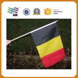 Bandeira pequena feita sob encomenda da onda da mão do poliéster (HYHF-AF076)