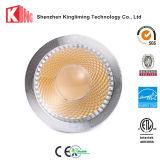 AC110V 120V PAR16 LED 전구 7W 50W 동등물 600 루멘 3000k