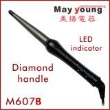 Preiswerter Brennkolben-Geformter LED-keramische Beschichtung-Haar-Großhandelslockenwickler