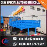 Il camion della gru di DFAC 4X2 Mountd con 8 tonnellate trasporta la gru della piattaforma