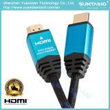Высокоскоростной кабель HDMI с локальными сетями 2160p 4k