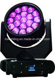 19*12W RGBW 4in1 다색 꿀벌 눈 K10 급상승 LED 이동하는 맨 위 광속 LED 이동하는 맨 위 빛