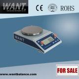 マルチモードの織物の重量を量るスケール(200g/210g/220g*0.01g)