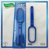 Producto de limpieza de discos plástico de la lengüeta del cepillo de la lengüeta