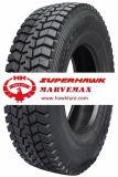 La alta calidad TBR cansa la fábrica Superhawk del halcón de los neumáticos del carro y del omnibus y las marcas de fábrica de Marvemax