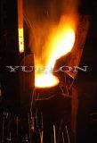 Fornalha elétrica que derrete para o bronze