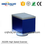 Scanner à grande vitesse Js2205 de Galvo avec l'ouverture de 12mm pour l'inscription de laser