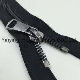 Zipper europeu do projeto do Zipper grande do metal do tamanho 8#