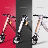 Новая конструкция складывая электрический велосипед с местом для взрослого