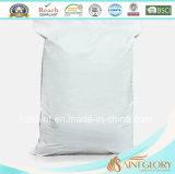 Protector puro blanco barato del algodón para la cubierta de la almohadilla del llano de la almohadilla