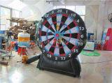 Placa de dardo inflável feita sob encomenda, jogo do dardo com preço de grosso