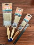 Деревянная щетка краски ручки с чисто материалом щетинки