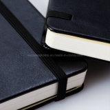 Cuaderno de cuero al por mayor de la PU Moleskine para la escuela y la oficina