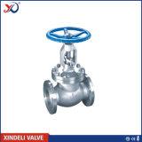 Válvula de globo da extremidade da flange do aço inoxidável do RUÍDO Pn40