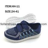 Ботинки обуви детей ботинок холстины впрыски отдыха вскользь (FFHH-092604)