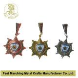 Medalha reparada por três porções, medalha do carnaval da concessão da lembrança