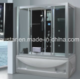 1700mm Jacuzzi와 Tvdvd (AT-LG0908)를 가진 특별한 Pearlized 증기 Sauna