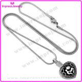 Pendenti corrosivi del cuore dell'acciaio inossidabile con la collana/Ijd9523 Chain