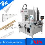 Impresora rotatoria compensada de la pantalla de seda de la base plana del vidrio de papel para la venta