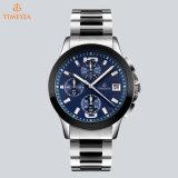 Chronograph-Luxuxstahlmann-Armbanduhr-Sport-Uhr 72794