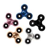 5 het Metaal van kleuren friemelt Spinner de Grappige Bovenkant van de Vinger van Kinderen