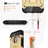 Cas protecteur antichoc de modèle d'armure pour le bord de Samsung S7