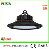 Luz elevada nova do louro do diodo emissor de luz do UFO 100With150With200W com excitador de Meanwell