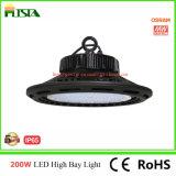 Luz elevada do louro do diodo emissor de luz do UFO da chegada nova 100With150With200W com excitador de Meanwell